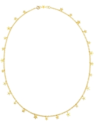 Marie Helene De Taillac 18Kt Yellow Gold And Diamond Star Necklace Metallic