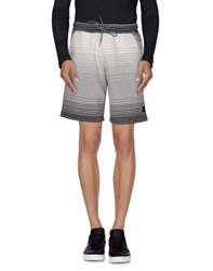 Iuter Trousers Bermuda Shorts Men Light Grey