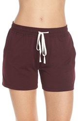 Women's Daniel Buchler Lounge Shorts Wine