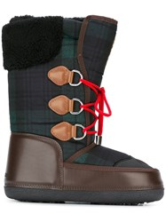 Dsquared2 Moon Boots Green
