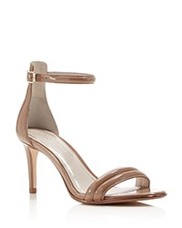 Kenneth Cole Mallory Ankle Strap Mid Heel Sandals Buff