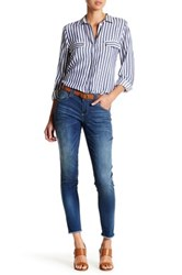 Democracy Frayed Hem Jean Blue