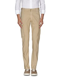 M.Grifoni Denim Trousers Casual Trousers Men Beige