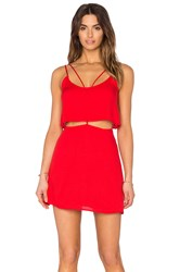 Oh Boy Vestido Alcas Dress Red