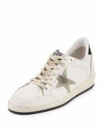 Golden Goose Distressed Leather Sneaker White Ice White Ice Star