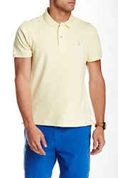 Tailorbyrd Short Sleeve Polo Yellow