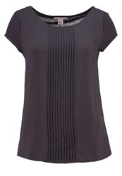Anna Field Blouse Anthracite
