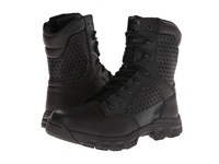 Bates Footwear Code 6 8 Side Zip Black Men's Work Boots