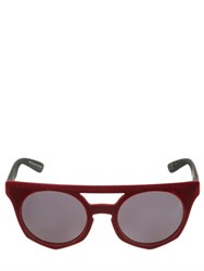 Italia Independent I Top Velvet Sunglasses