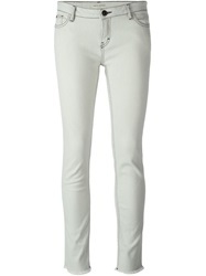 Each X Other Cropped Slim Fit Jeans Grey