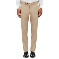 Barneys New York Men's Twill Pisa Trousers Beige Tan Beige Tan