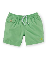 Ralph Lauren Traveler Drawstring Swim Trunks