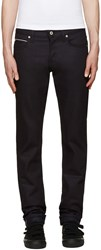 Naked And Famous Blue Selvedge Super Skinny Guy Jeans