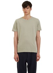 Les Basics Short Sleeved Crew Neck T Shirt Grey