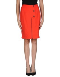 Opening Ceremony Knee Length Skirts Red