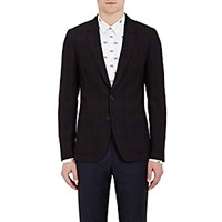 Paul Smith Men's Checked Two Button Sportcoat No Color
