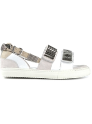 Toga Pulla Sneaker Style Sandals White