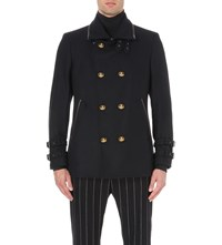 Vivienne Westwood Melton Wool Blend Peacoat Navy