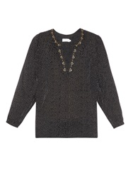 Velvet By Graham And Spencer Aleta Peasant Top