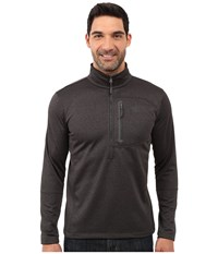 The North Face Canyonlands 1 2 Zip Pullover Tnf Dark Grey Heather Men's Sweatshirt Gray