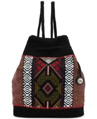 The Sak Sayulita Backpack Blk Tribal