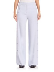 Acne Studios Wide Leg Pants Sky Blue