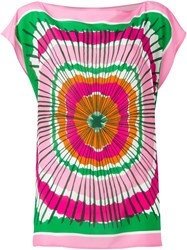 P.A.R.O.S.H. Tunic Top Pink And Purple