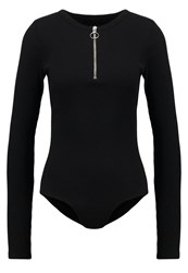 2Nd Day Alice Long Sleeved Top Black