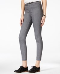 Armani Exchange Cropped Jeggings Grey