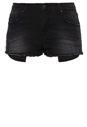 Ltb Shania Denim Shorts Maribel Wash Black Denim