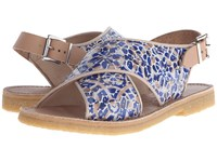 Penelope Chilvers Max Alhambra Blue White Women's Shoes