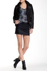 Zadig And Voltaire Mini Skirt Black
