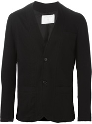 Societe Anonyme Collarless Blazer Black