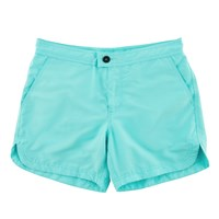 Basze Mint Classic Swim Shorts Blue Green