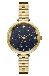 Kate Spade Women's New York Celestial Holland Crystal Dial Bracelet Watch 34Mm