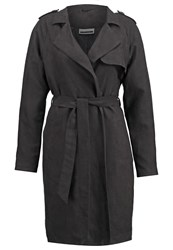 Noisy May Nmtassy Trenchcoat Black
