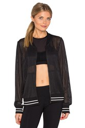 Lorna Jane Sporty Bomber Black