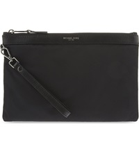 Michael Kors Lightweight Nylon Travel Pouch Black