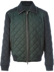 Brioni Quilted Jacket Grey