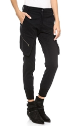 James Jeans Slouchy Fit Utility Cargo Pants Black