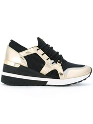 Michael Michael Kors Lace Up Sneakers Black