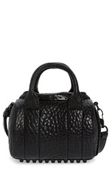 Alexander Wang 'Mini Rockie Matte Black' Leather Satchel