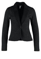 S.Oliver Denim Blazer Black