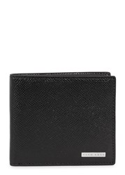 Boss Signature Black Leather Wallet