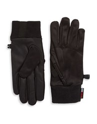 32 Degrees Fleece Lined Tech Gloves Black