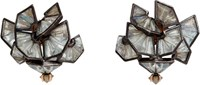 Nak Armstrong Women's Mosaic Cluster Studs Colorless