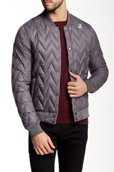 K Way Louis Light Thermo Waterproof Down Jacket Gray
