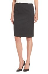 Halogenr Women's Halogen Mini Stripe Stretch Suit Skirt