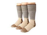 Fox River Steel Toe Boot Wool Heavyweight 3 Pair Pack Grey Knee High Socks Shoes Gray