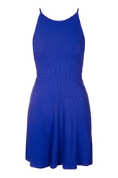 Topshop Strappy Back Tunic Cobalt